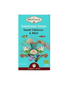 Ceai Shoti'maa elements emotional detox bio, 16 dz de la Shotimaa
