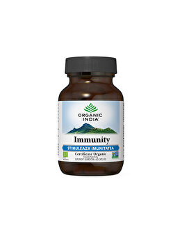 Organic India Immunity Stimuleaza Imunitatea 60 capsule de la ORGANIC INDIA