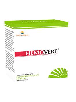 Supliment alimentar Sun Wave Pharma Hemovert, 15 plicuri