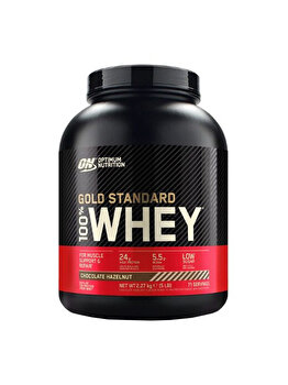 100% Proteina din zer Optimum Nutrition Whey Gold Standard Chocolate & Hazelnut 2260g