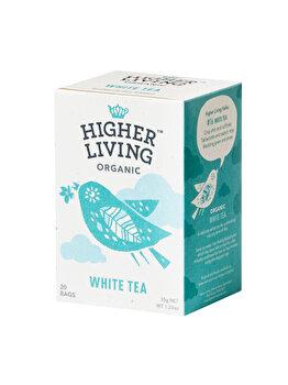Ceai alb Higher Living bio 20 dz, 35 g de la Higher Living