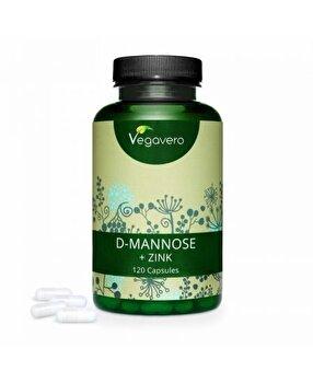 Vegavero D-Mannose + Zinc 120 Capsule Vegavero