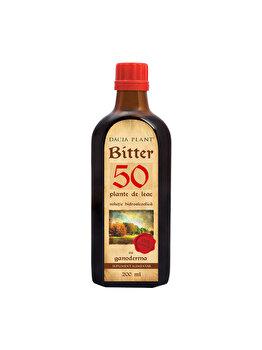 Supliment alimentar Dacia plant Bitter 50 - cu Ganoderma EHC 200ml de la Dacia plant