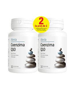 Coenzima Q10 10 mg pachet Alevia 30+30 comprimate Alevia