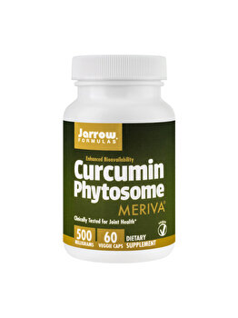 Supliment alimentar Jarrow Formulas by Secom Curcumin Phytosome 500mg 60 capsule vegetale de la Jarrow Formulas by Secom