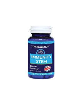 Supliment alimentar Herbagetica Immunity + Stem 60 capsule de la Herbagetica