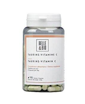 Belle&Bio Taurina cu Vitamina C, 90 capsule, 500 mg