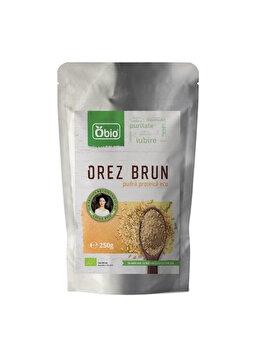 Pudra proteica Obio din orez premium bio, 250 g Obio