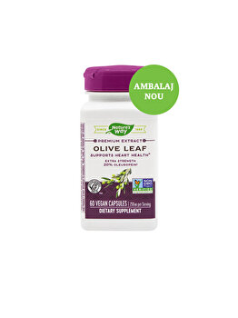 Supliment alimentar Nature's Way by Secom Olive Leaf 20% SE 60 capsule vegetale