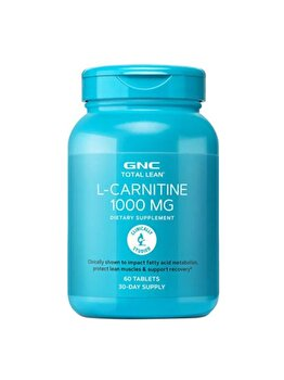 Supliment Alimentar GNC Total Lean® L-Carnitina 1000 mg, 60 tb