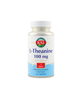 Supliment alimentar KAL by Secom L-Theanine 100mg 30 tablete ActivTab KAL by Secom