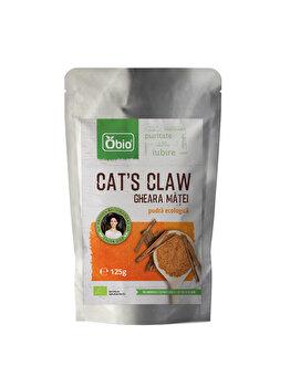 Cat's claw pulbere Obio raw bio, 125 g