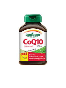 Supliment alimentar pentru sanatate cardiovasculara Jamieson coenzima q10 120mg 60 capsule de la Jamieson
