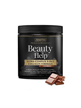 Supliment alimentar cu acțiune antiaging Zenyth BeautyHelp Chocolate Flacon 300 grame de la Zenyth