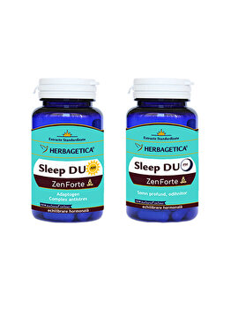 Supliment alimentar Herbagetica Sleep duo AM/PM (60+60) Herbagetica
