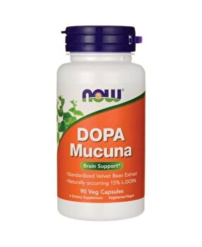 Now L-DOPA Mucuna 90 Capsule Now Food