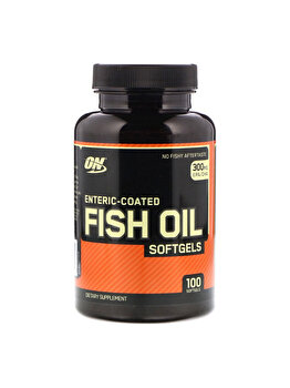 Ulei de peste enteric Optimum Nutrition Coated Fish Oil Standard 100 capsule