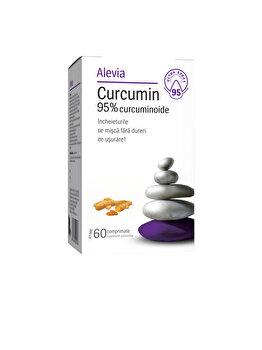 Curcumin Alevia 60 comprimate