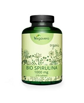 Vegavero Spirulina Organic 1000 mg 270 Capsule Vegavero