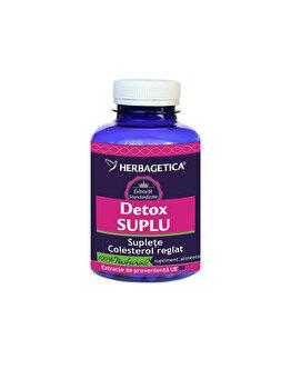 Supliment alimentar Herbagetica Detox Suplu 30 capsule de la Herbagetica