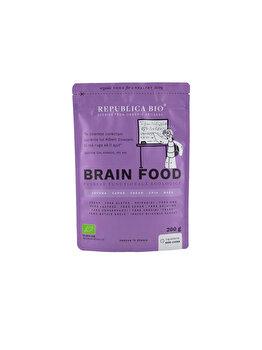 Brain Food, pulbere functionala ecologica Republica BIO, 200 g de la Republica Bio