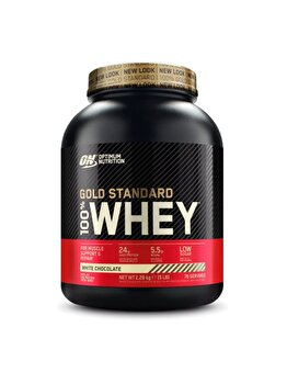 100% Proteina din zer Optimum Nutrition Whey Gold Standard White Chocolate 2260g de la Optimum Nutrition