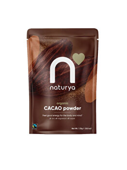 Pulbere de Cacao Ecologic/ BIO din comert echitabil - 125 g de la Naturya