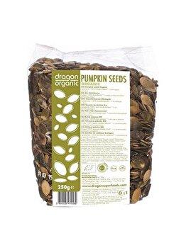 Seminte de dovleac Dragon Superfoods raw bio, 250 g de la Dragon Superfoods