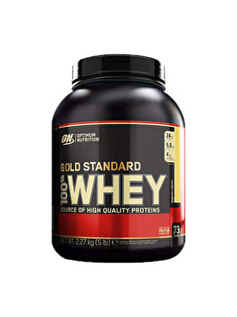 100% Proteina din zer Optimum Nutrition Whey Gold Standard Banana Cream 2260g de la Optimum Nutrition