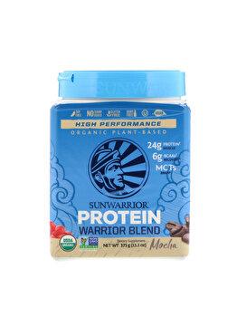 Proteina vegetala Sunwarrior Warrior Blend Mocha, 375 grame de la Sunwarrior