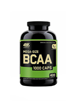 Aminoacizi BCAA 1000 Optimum Nutrition Standard 400 capsule de la Optimum Nutrition