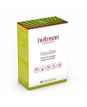 Nutrisan FocuSan (Extract de Ginseng) 30 Capsule Nutrisan