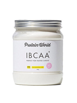Mix de aminoacizi Protein World Pre Workout IBCAA+ Summer Fruits zero calories, 400 g Protein World