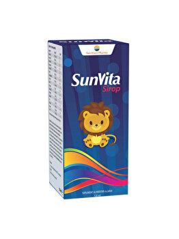 Supliment alimentar Sun Wave Pharma Sunvita Sirop, 120 ml de la Sun Wave Pharma