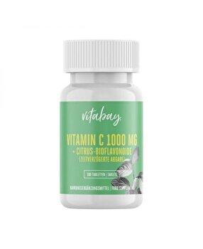 Vitabay Vitamina C 1000 mg + Bioflavonoide 100 Tablete, eliberare in timp Vitabay