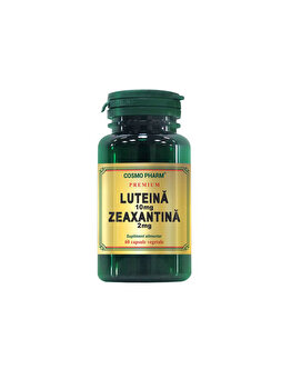 Supliment alimentar Cosmo Pharm Luteina 10 mg Zeaxantina 2 mg 60 capsule de la Cosmo Pharm