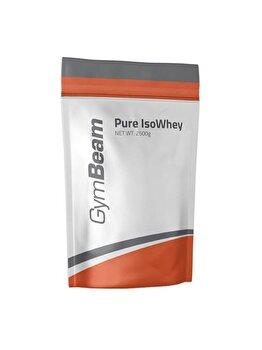 Proteine Pure IsoWhey Gymbeam crema de capsune GymBeam