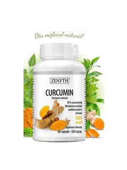 Supliment alimentar pentru sănătatea inimii și articulațiilor Zenyth Curcumin capsule x550 mg de la Zenyth
