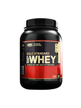 100% Proteina din zer Optimum Nutrition Whey Gold Standard Vanilla Ice Cream 908g Optimum Nutrition