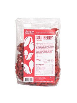 Goji berry Dragon Superfoods raw bio, 100 g de la Dragon Superfoods