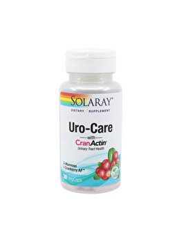 Supliment alimentar Solaray by Secom Uro-Care with CranActin 30 capsule vegetale de la Solaray by Secom