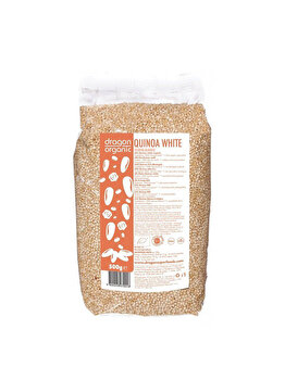 Quinoa alba Dragon Superfoods bio, 500 g de la Dragon Superfoods