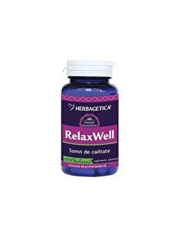 Supliment alimentar Herbagetica Relax well 120 capsule de la Herbagetica