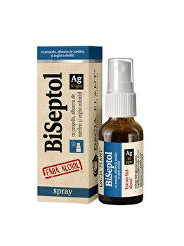 Dacia plant Spray BiSeptol cu Argint coloidal fara alcool 20ml de la Dacia plant