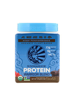 Proteina vegetala Sunwarrior Warrior Blend Chocolate, 375 grame de la Sunwarrior