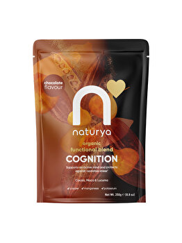 Pulbere amestec Cognition Functional Blend Organic, 250 g de la Naturya