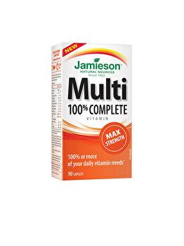 Complex de vitamine si minerale Jamieson multi 100% completforte 30 capsule de la Jamieson