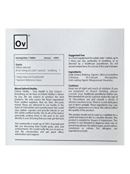 Supliment alimentar Oxford Vitality Usturoi Ultra 10000 mg, 500 tablete de la Oxford Vitality