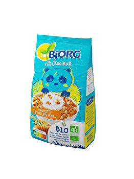 Cereale crocante cu miere Bjorg Eco Petit Curieux 375 grame de la Bjorg