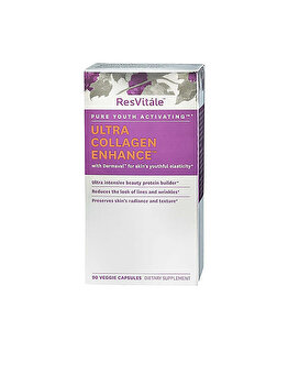 Supliment Alimentar ResVitale™ Ultra Collagen Enhance™, Colagen, 90 cps de la GNC
